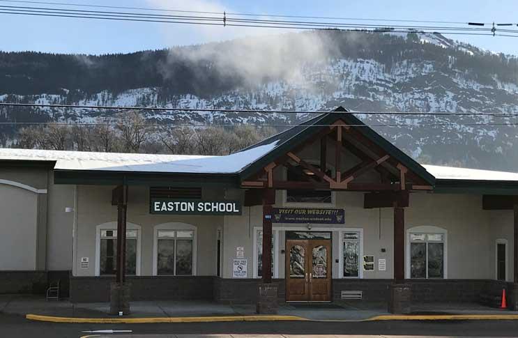 Easton School - Easton Washington