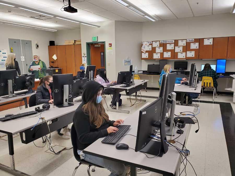 CTE Computer Science Class