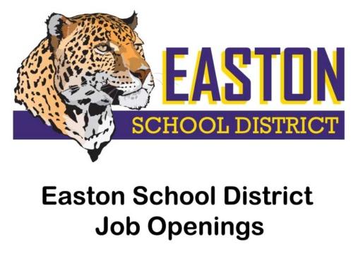 Job Openings at Easton School
